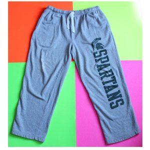 NCAA Michigan Spartans Big Logo Track Pants